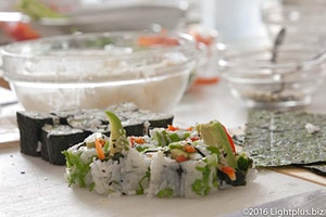 Learn to Make Sushi