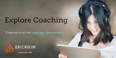 Explore Coaching Free Webinar tickets