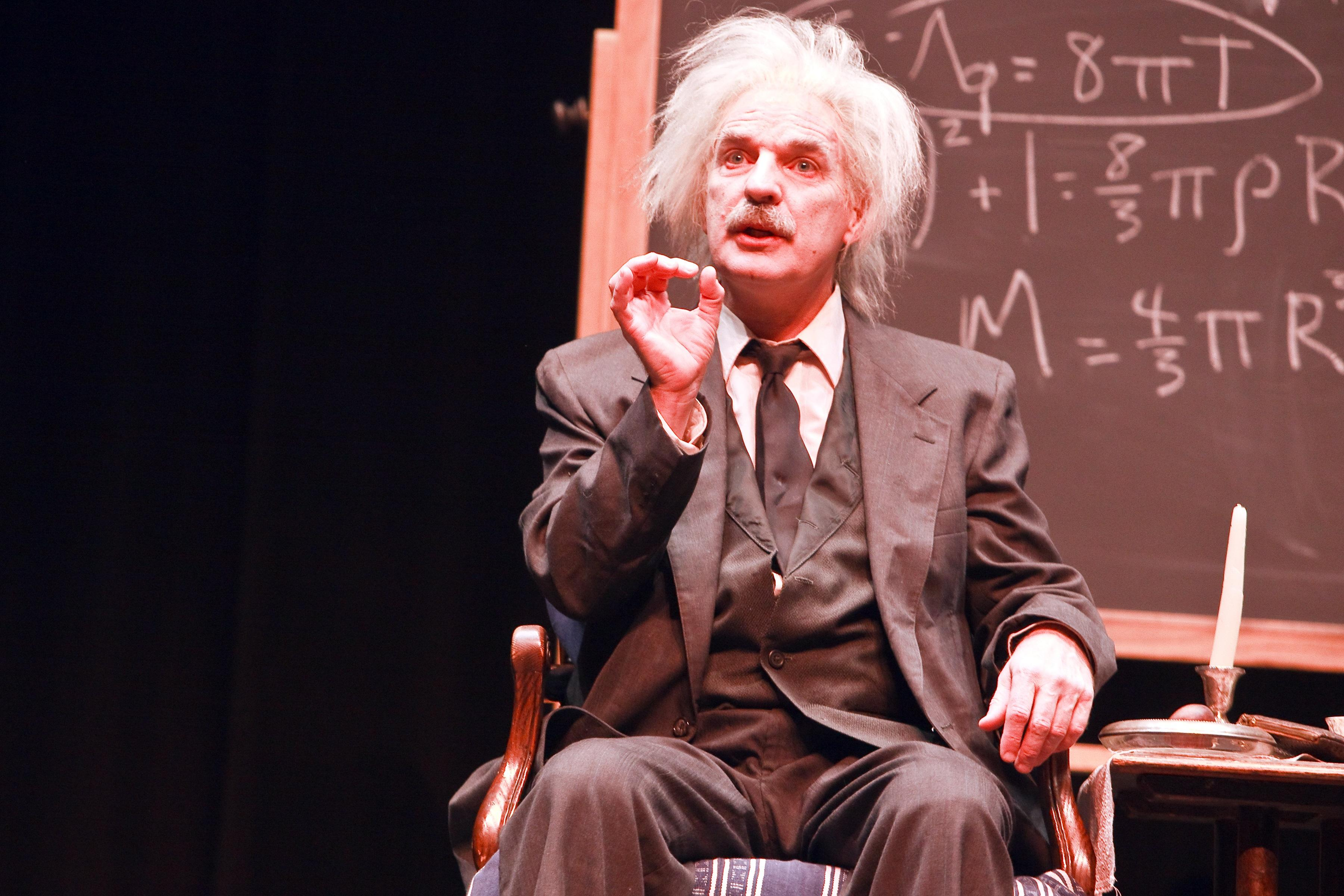 Einstein: A Stage Portrait, starring Thomas S