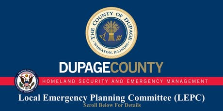 Local Emergency Planning Committee (LEPC) Meetings tickets