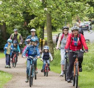 Cycle South Brum video filming 17 August