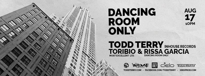 Dancing Room Only with Todd Terry,Toribio and