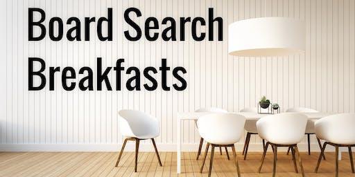 Board Search Breakfasts 2018