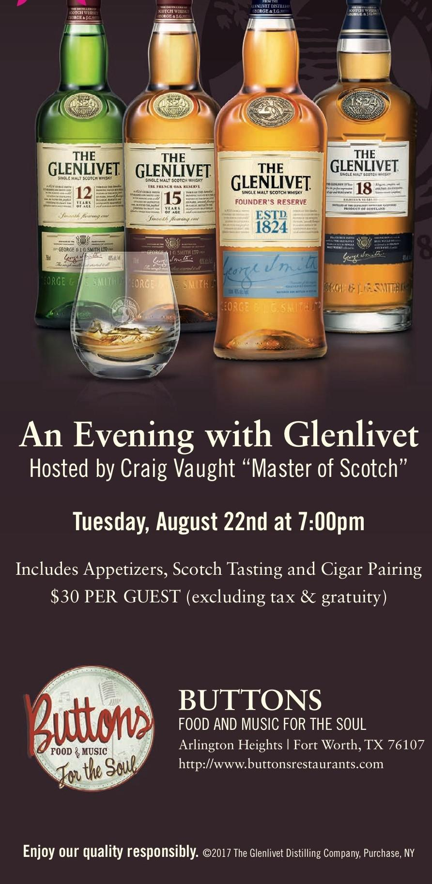 An Evening with The Glen Livet