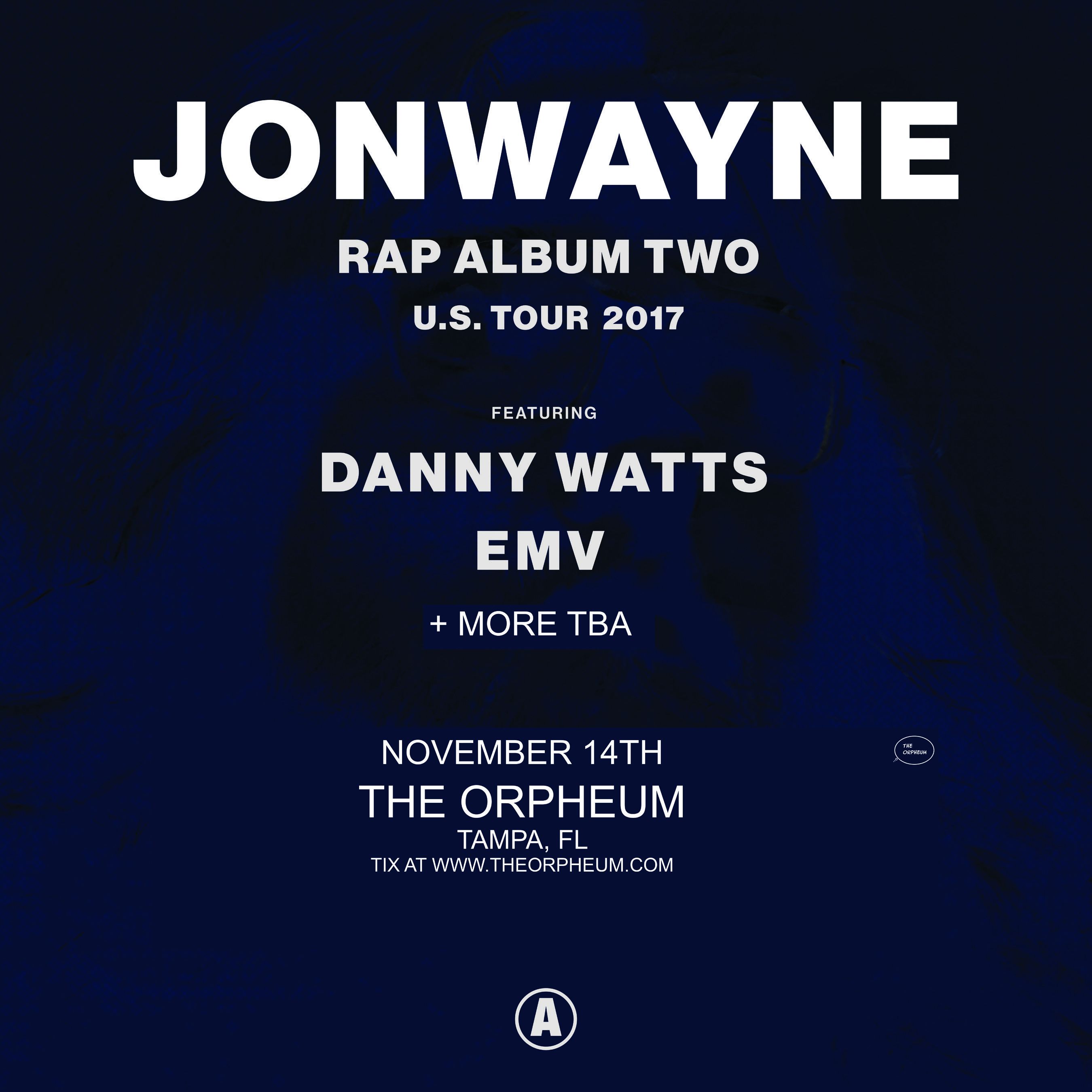Hip hop radio stations in tampa fl - Jonwayne The Orpheum