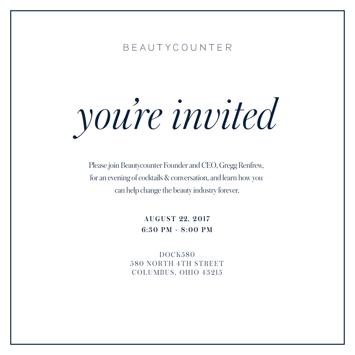 Meet Beautycounter and Founder and CEO, Gregg
