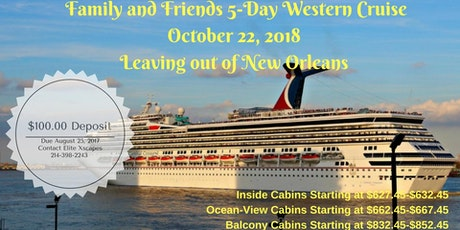 Western Caribbean Super Bowl Cruise From New Orleans Tickets - 3 5 day cruises