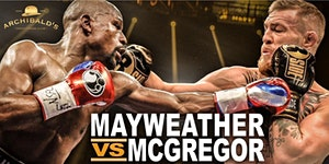 Mayweather- McGregor Fight Night Watch Party