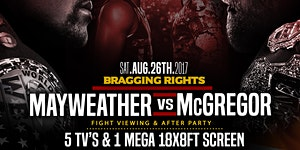 Bragging Rights Mayweather Vs Mcgregor Fight Party At C...