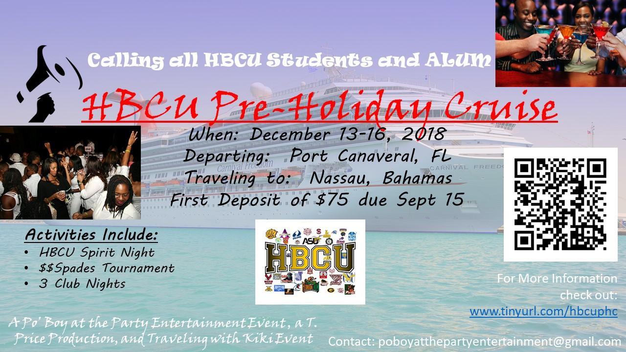 HBCU Pre-Holiday Bahamas Cruise