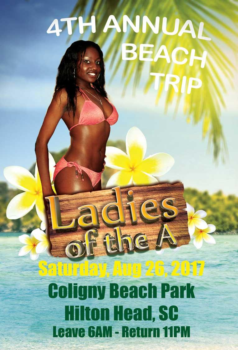 Ladies of the A Beach Trip 2017