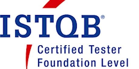 ISTQB® Foundation Exam and Training Course - Prague tickets