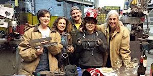 Women, Welding, and Wine! September