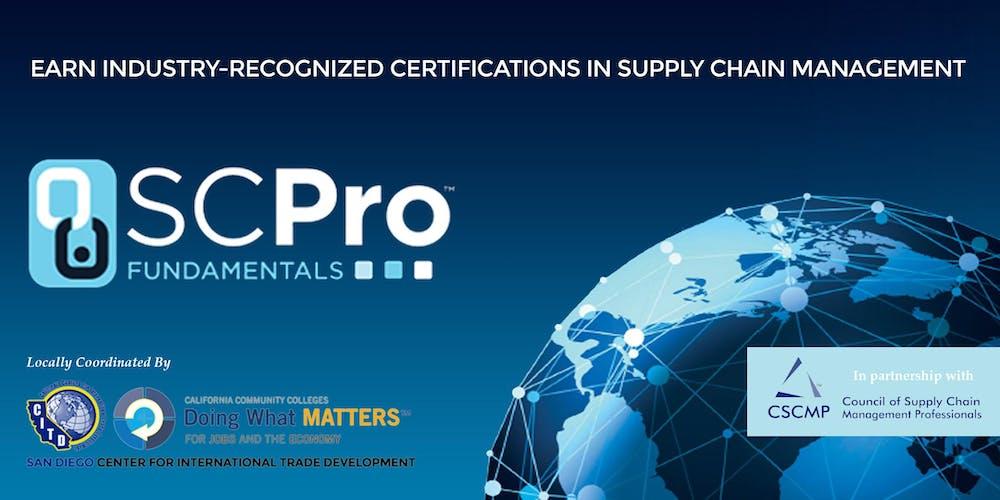 Cscmp Scpro Fundamentals Certifications Registration Multiple Dates