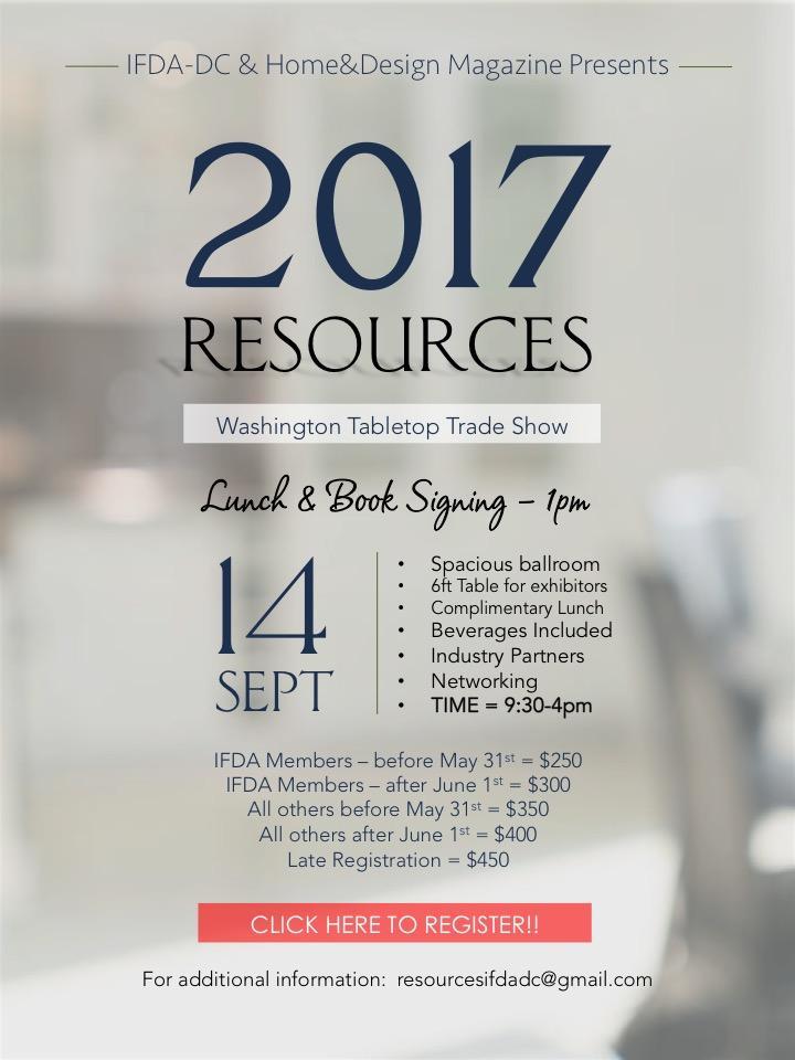 IFDAdc Resources 2017