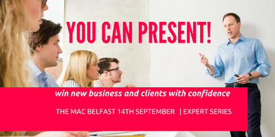 You can PRESENT! - design and deliver a presentation that wins new business!
