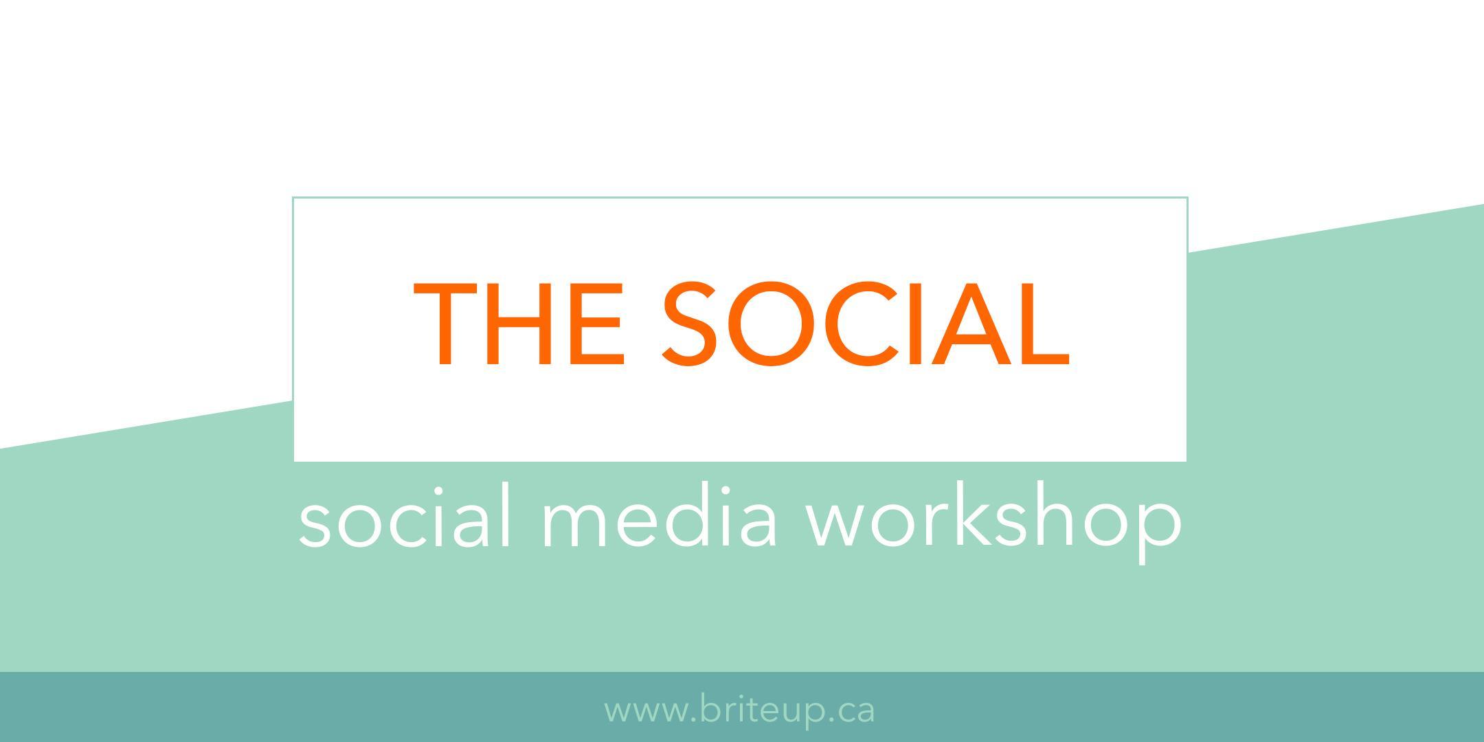 The Social - Social Media Workshop