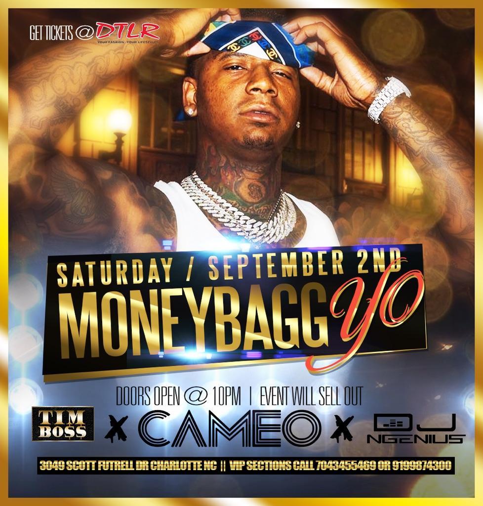 MONEY BAGG YO PERFORMING LIVE AT CAMEO LABOR