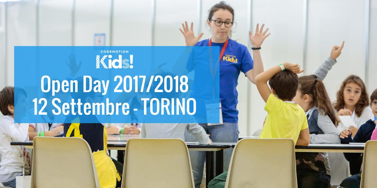 Open Day 17/18 - Scuola di Tecnologia 'Codemo