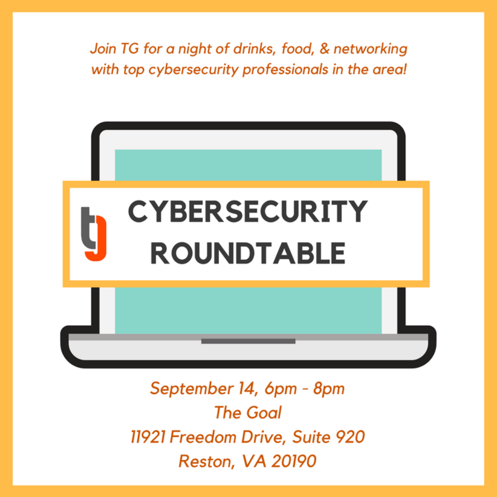 Cybersecurity Networking & Roundtable  photo