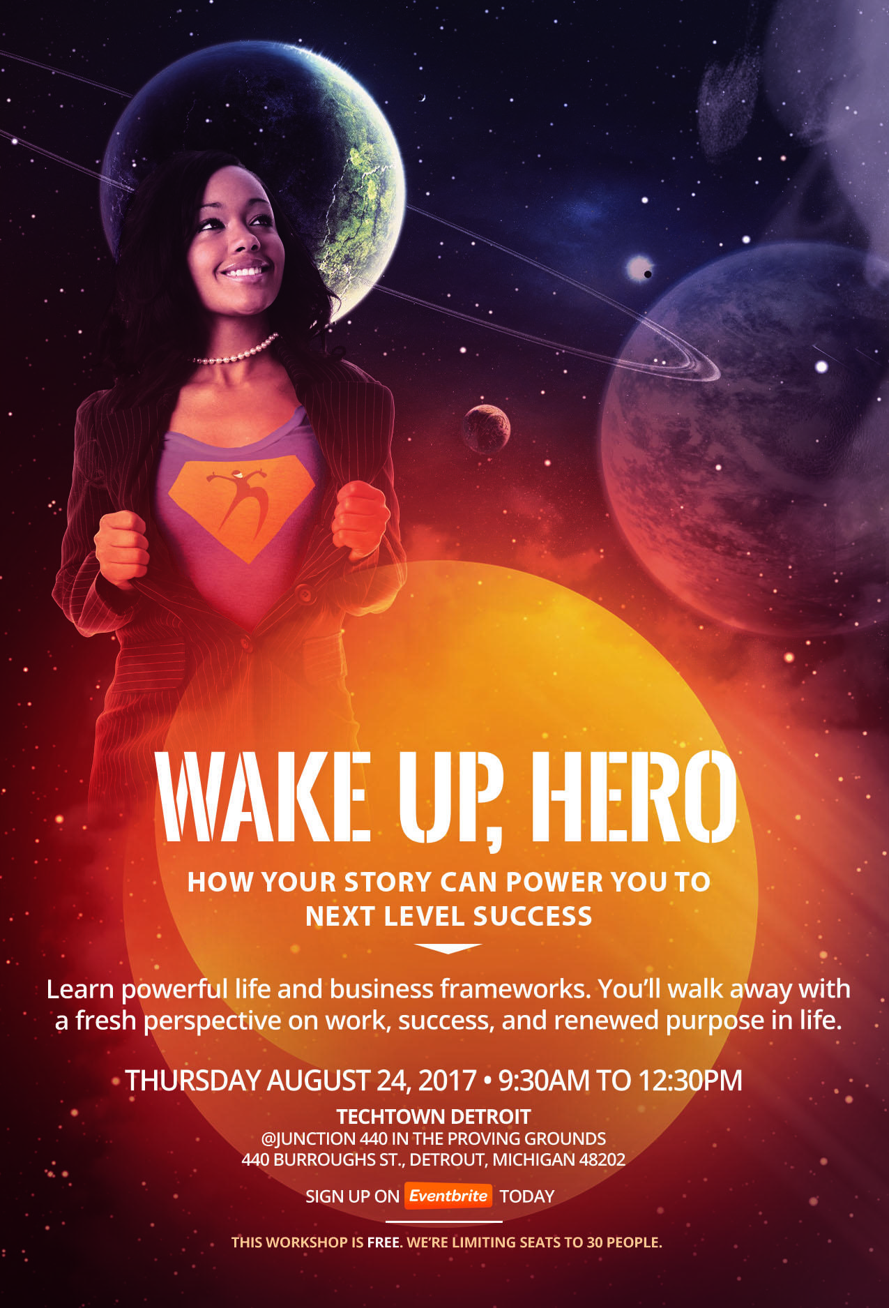 Wake up, hero: how your story can power you t