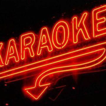 Karaoke at Bombshell's. Karaoke at Bombshell's