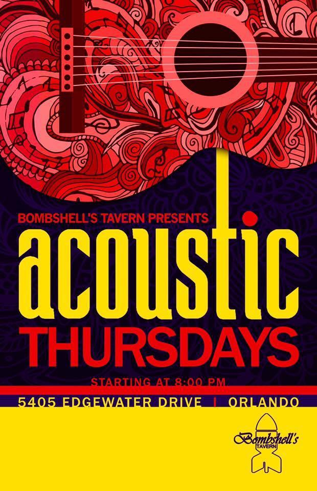 Acoustic Thursdays . Acoustic Thursdays