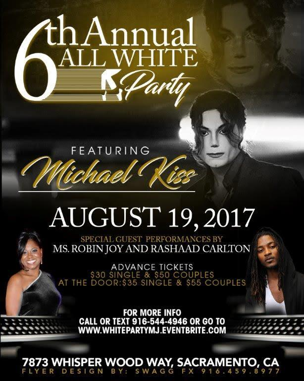 6th Annual All White Party - A Tribute to Michael Jackson. 6th Annual All White Party - A Tribute to Michael Jackson