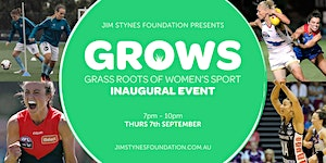 The Jim Stynes Foundation Grass Roots of Womens Sport...