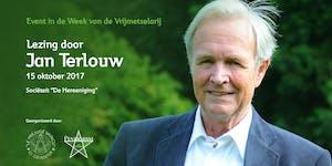 Lezing Jan Terlouw - 300 jarig bestaan Vrijmetselarij