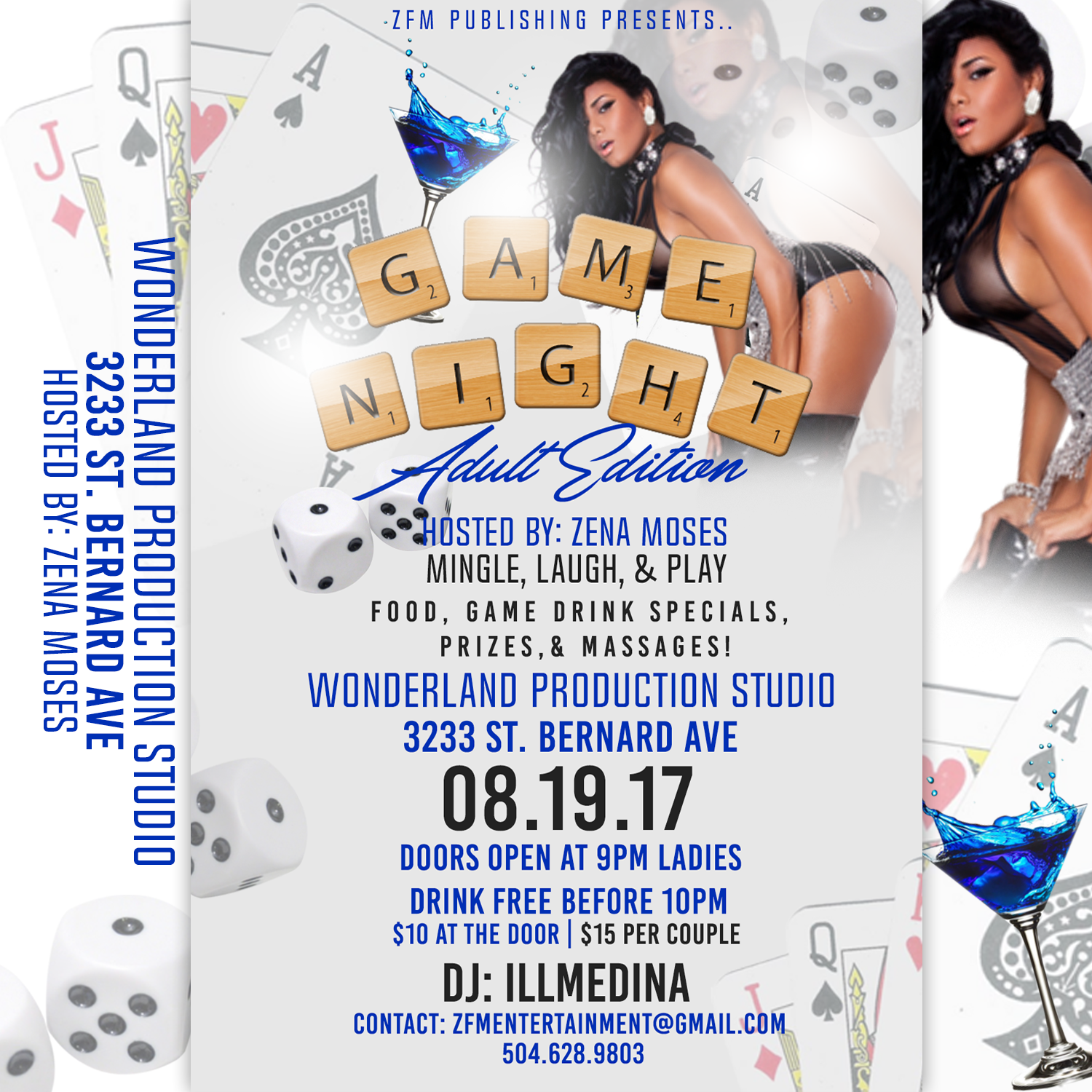 NOLA Adult Edition Game Night hosted by Zena