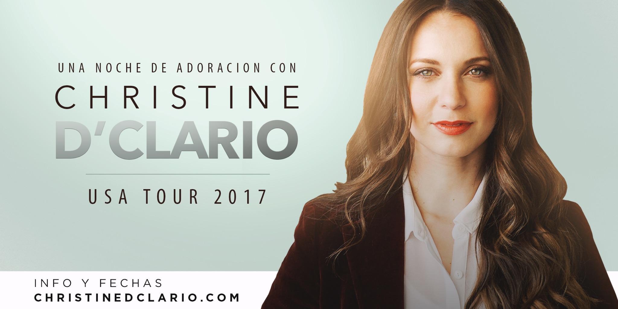 Dallas TX - Una Noche de Adoración Con Christine D'clario   Coppell, TX   Iglesia Mundo de Fe   December 9, 2017