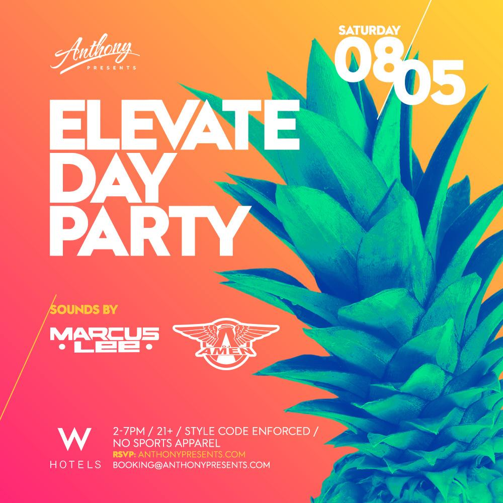 Elevate Rooftop Day Party at W Hotel - San Francisco in San ...
