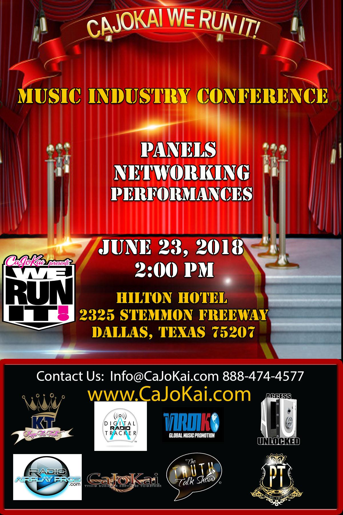 2018 CaJoKai We Run It! Conference