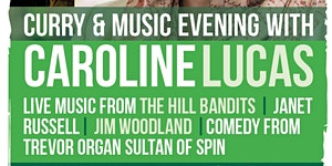 Curry & Music Evening with Caroline Lucas