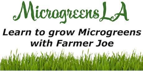 Learn to Grow Microgreens with Farmer Joe tickets