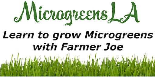 Learn to Grow Microgreens with Farmer Joe