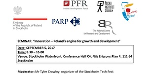 "POLISH INNOVATION DAYS Seminar: ""Innovation – Poland's..."