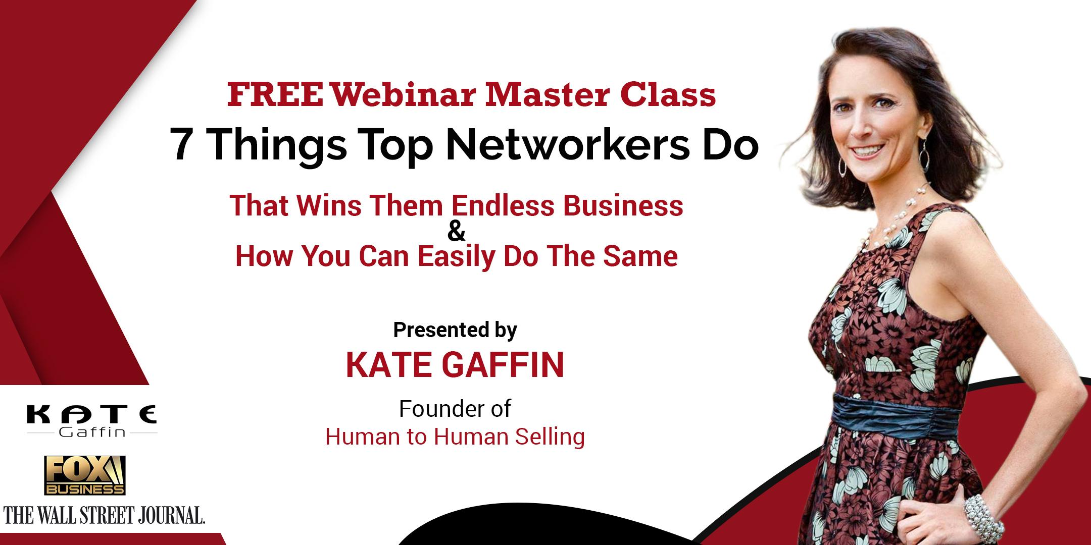 7 Things Top Networkers Do That Wins Them En