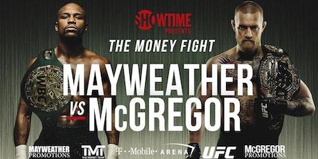 Image result for mayweather vs mcgregor fight time