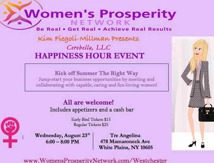 Women's Prosperity Network Happiness Hour