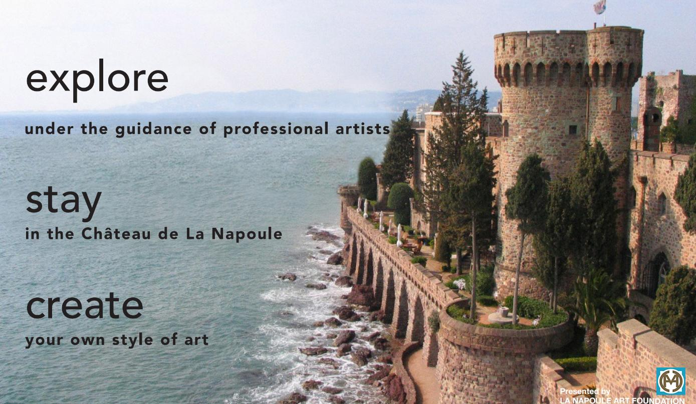 Summer Programs at the Chateau de la Napoule