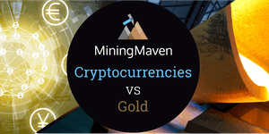 Cryptocurrencies v Gold  - Which is the better long...