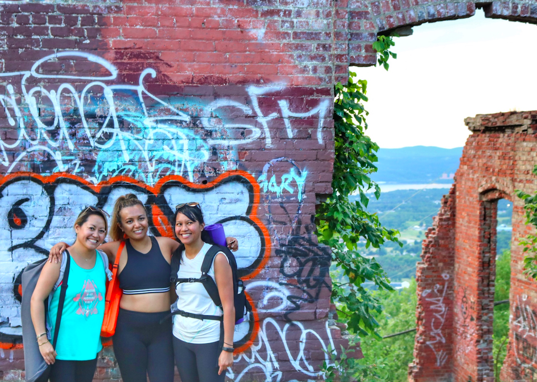 Hike/Yoga at Mt Beacon with nOMad