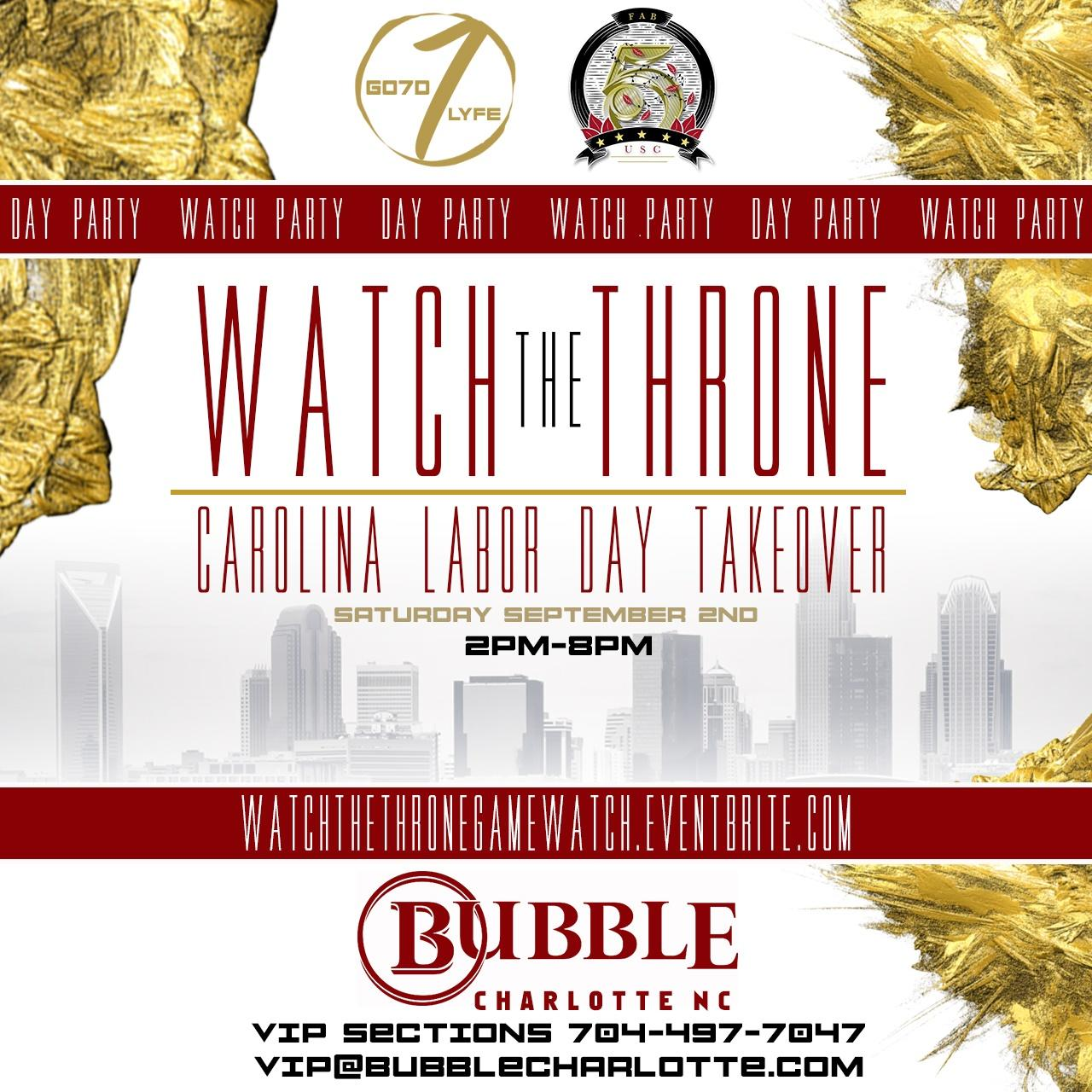 Watch the Throne Day/Watch Party