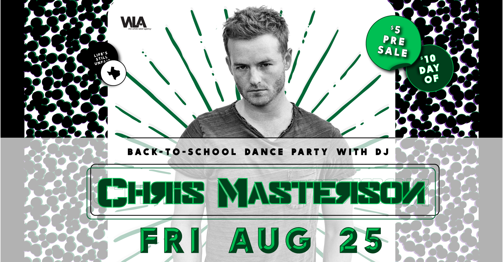 Back-to-School Dance Party w/ DJ Chris Masterson
