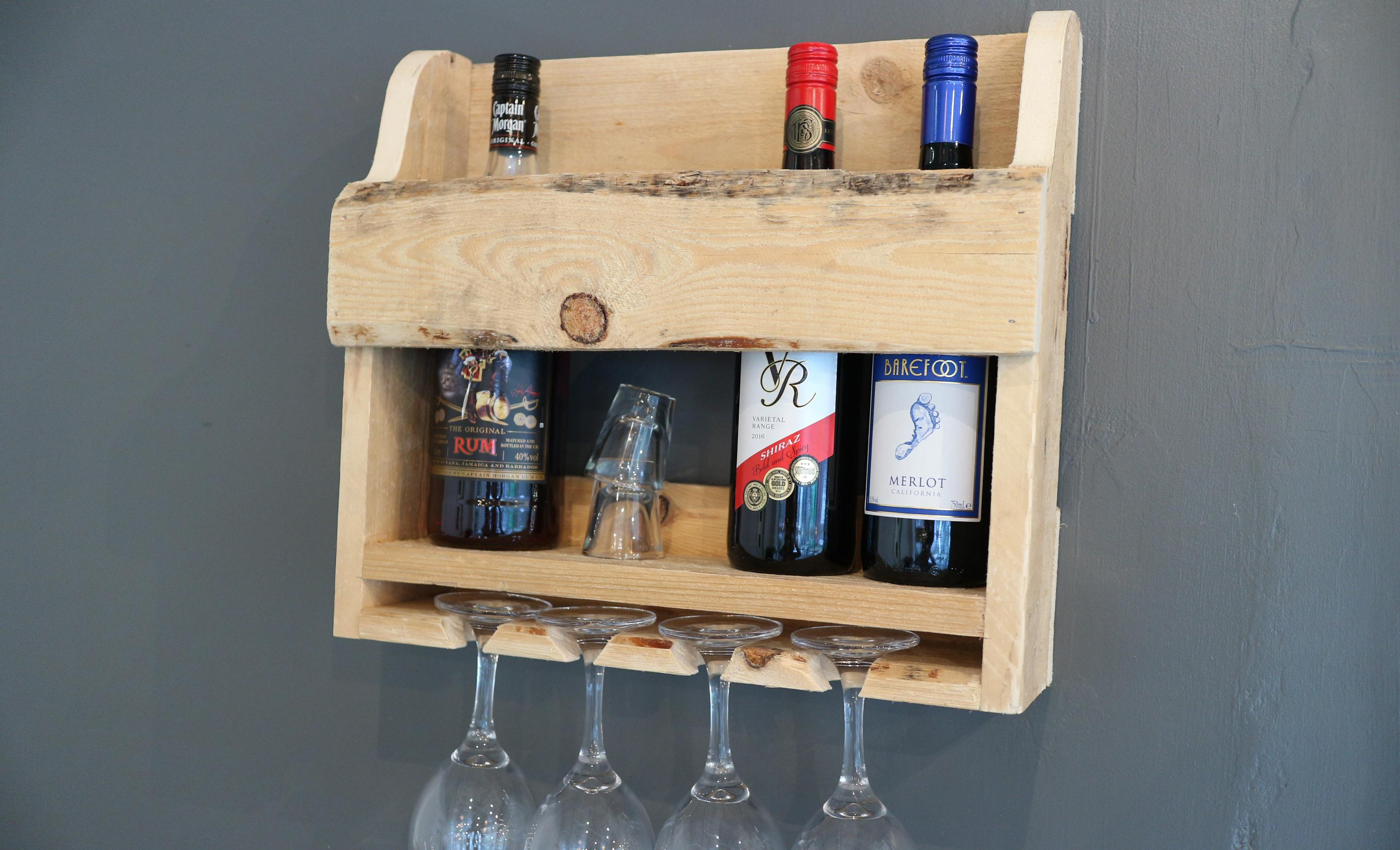 An introduction to woodwork: Wine Rack