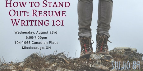 how to stand out resume writing 101 tickets