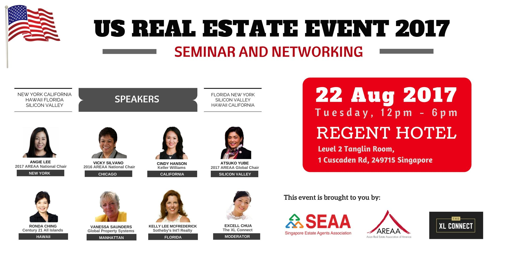US Real Estate Event 2017 - Seminar and Netwo
