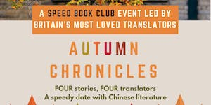 Autumn Chronicles: Book Clubbing with Britain's Most...